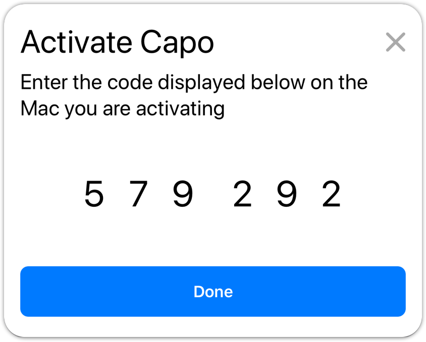 Ios activation code